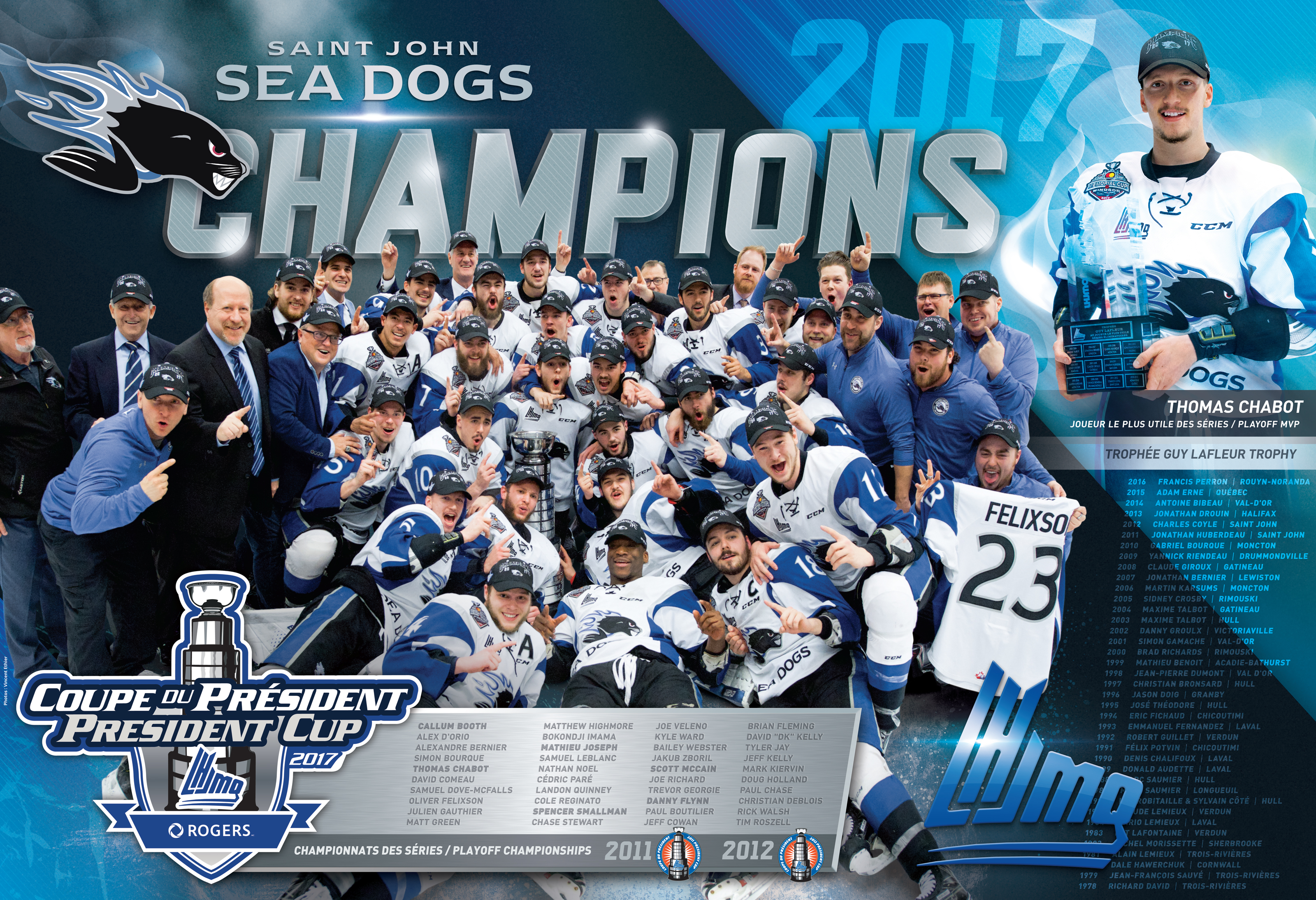 CHAMPIONS 2017 | Saint John, Sea Dogs