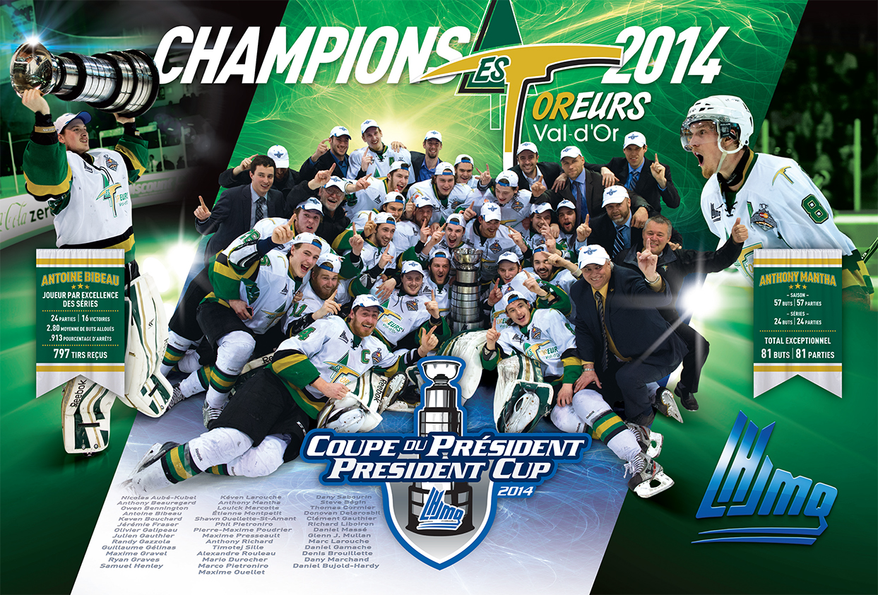 Foreurs - champions 2014