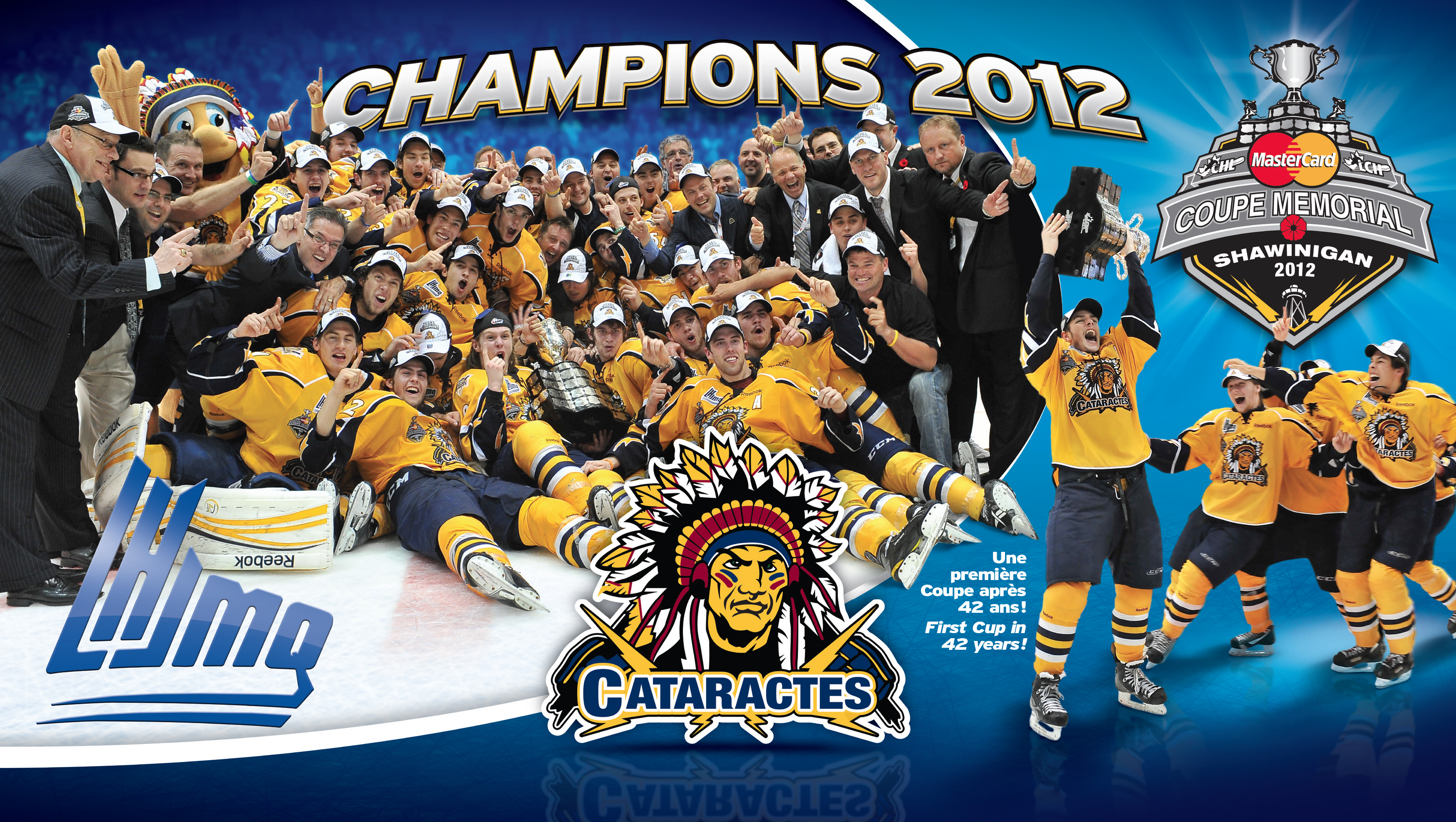 2012 - Champions Coupe Memorial / Memorial Cup Champions